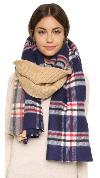 Weekly Want - Standard Form Plaid Scarf (Plus 25% Off At Shopbop ...