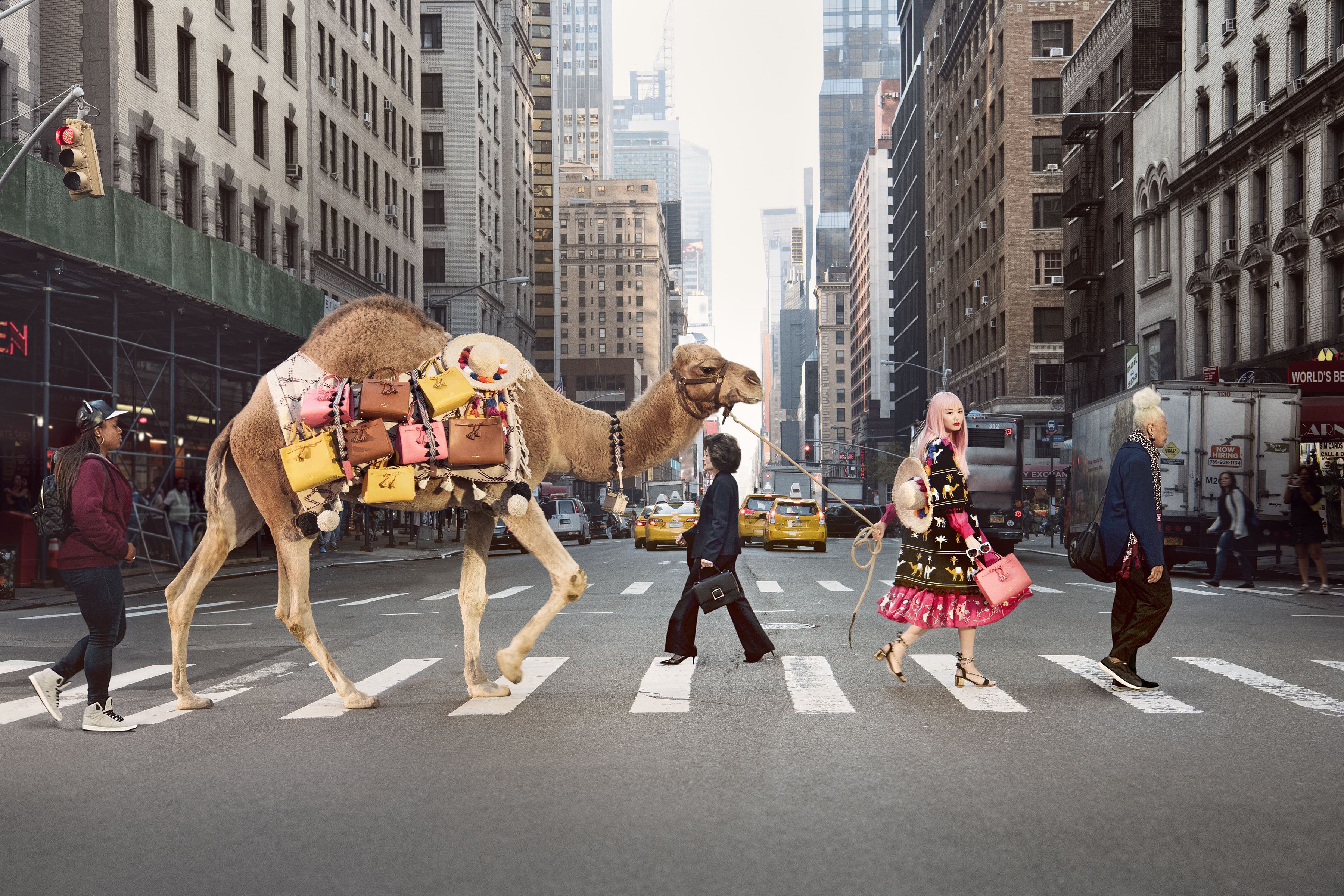 Kate Spade's spring 2017 campaign featuring Fernanda Ly.