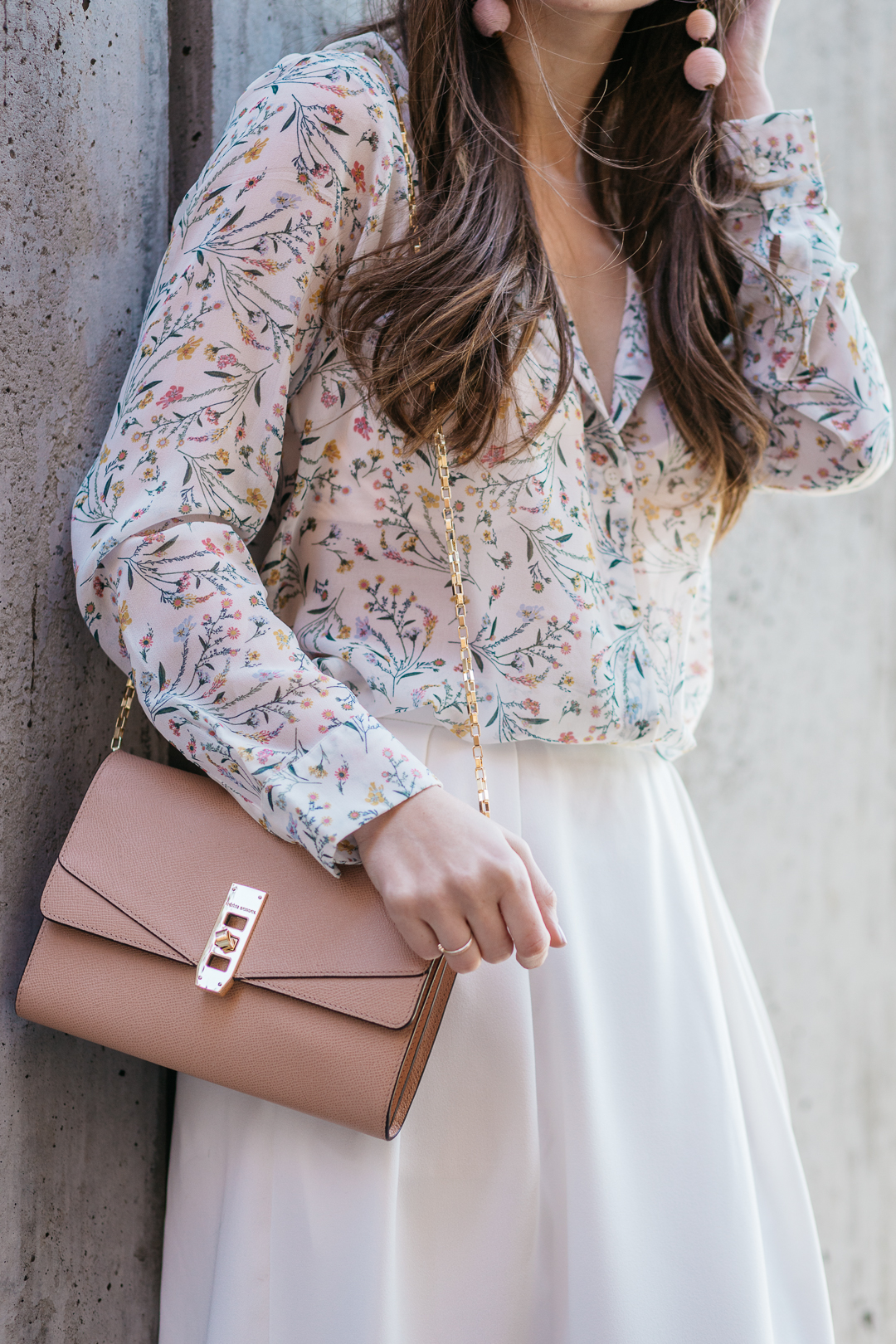 The perfect blush pink bag from Henri Bendel