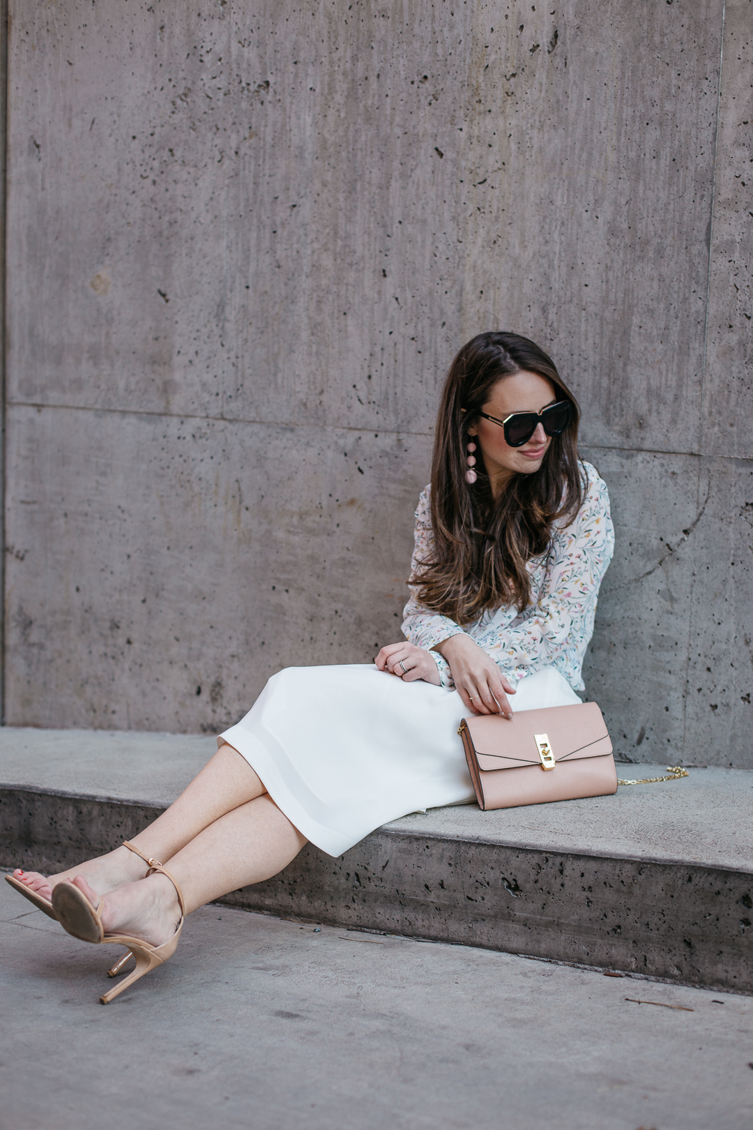 Wearing some of my favorite pieces from Henri Bendel and Uniqlo