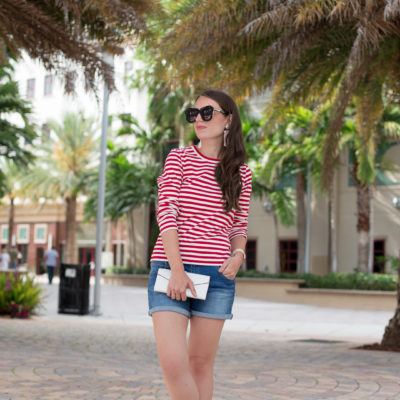 Stripes And Cut Offs In Palm Beach