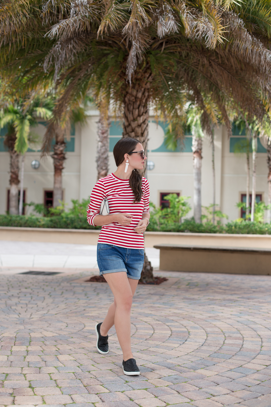 Wearing Zappos favorites in Palm Beach