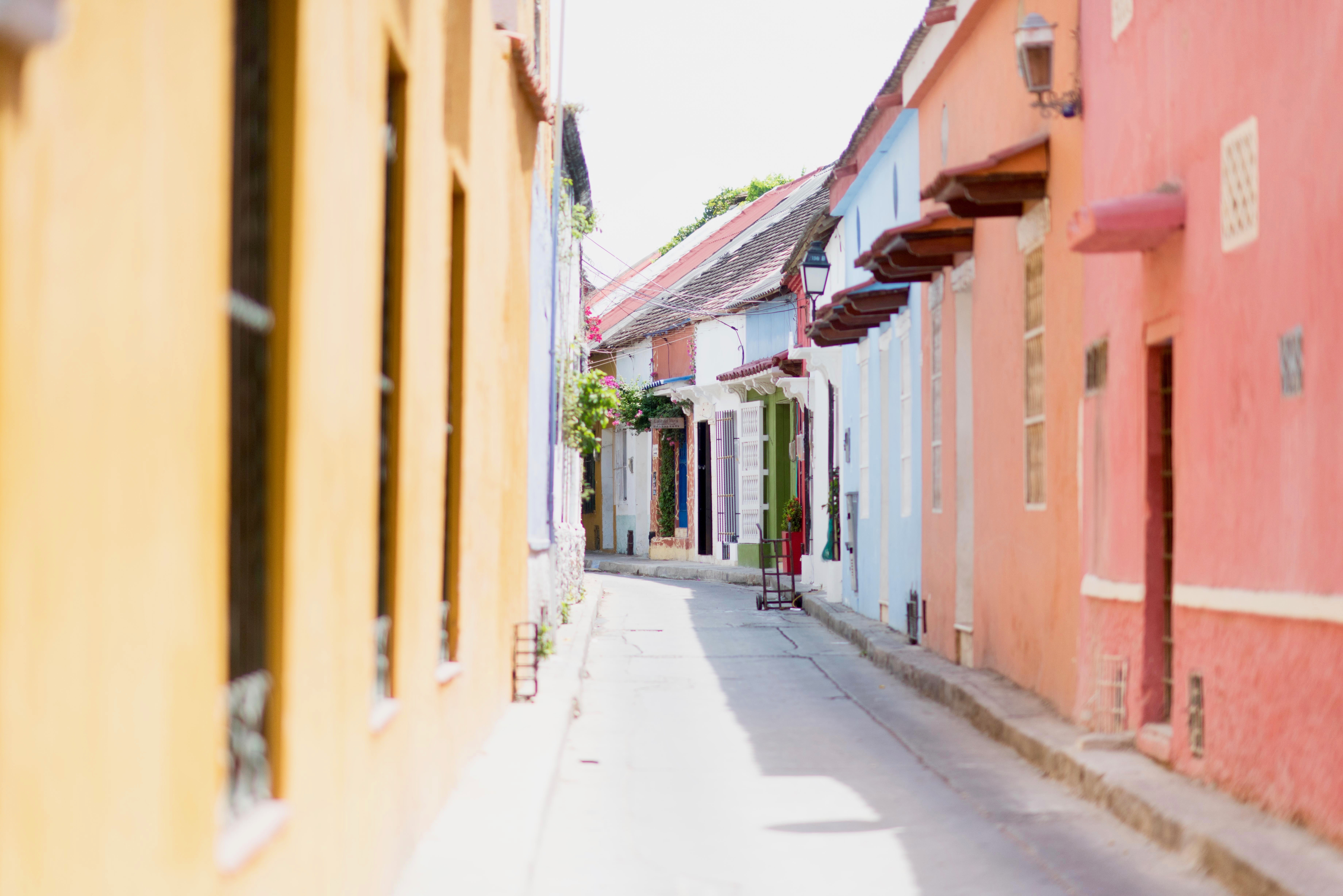 Pastels in Cartagena