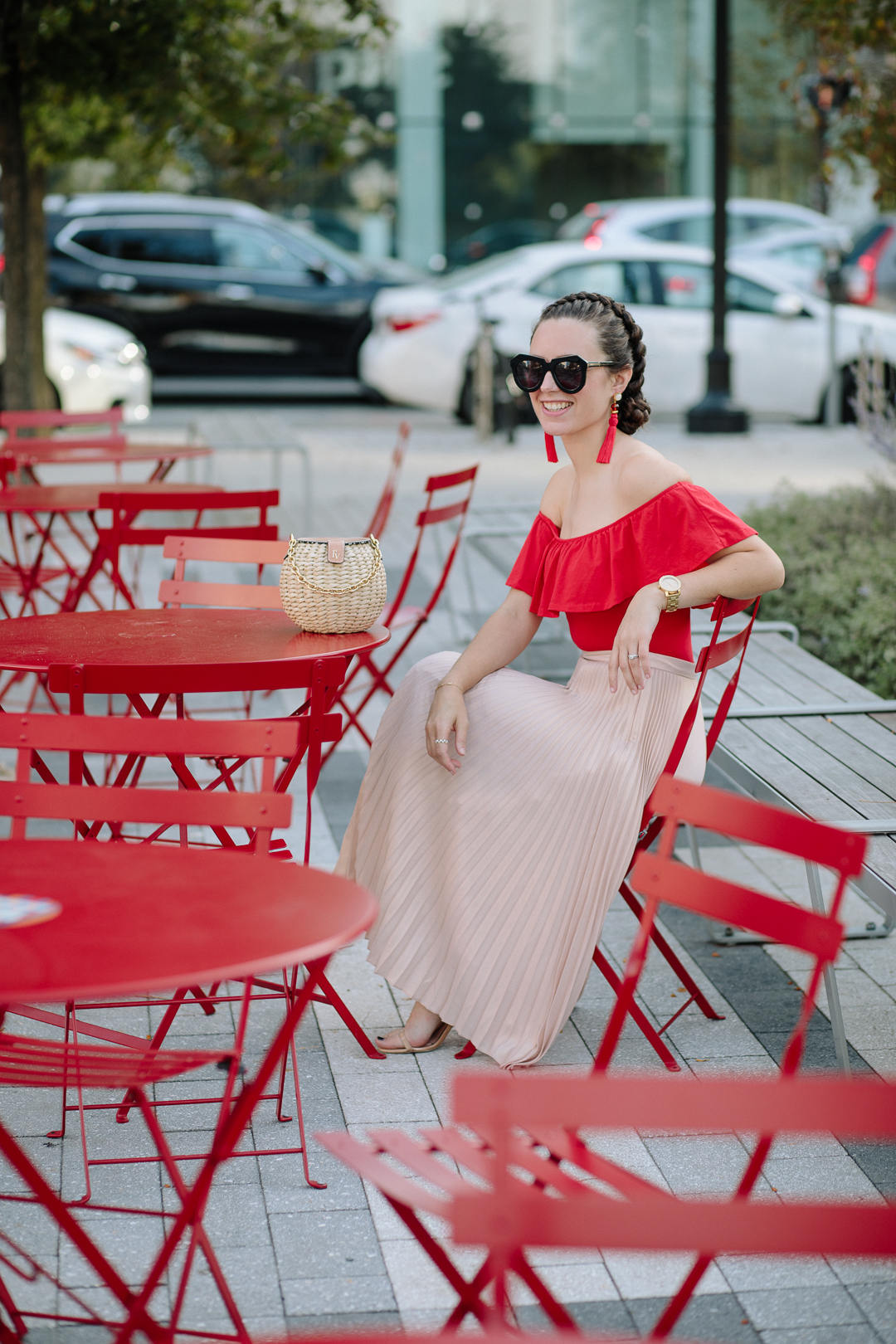 Wearing Annina skirt by Club Monaco