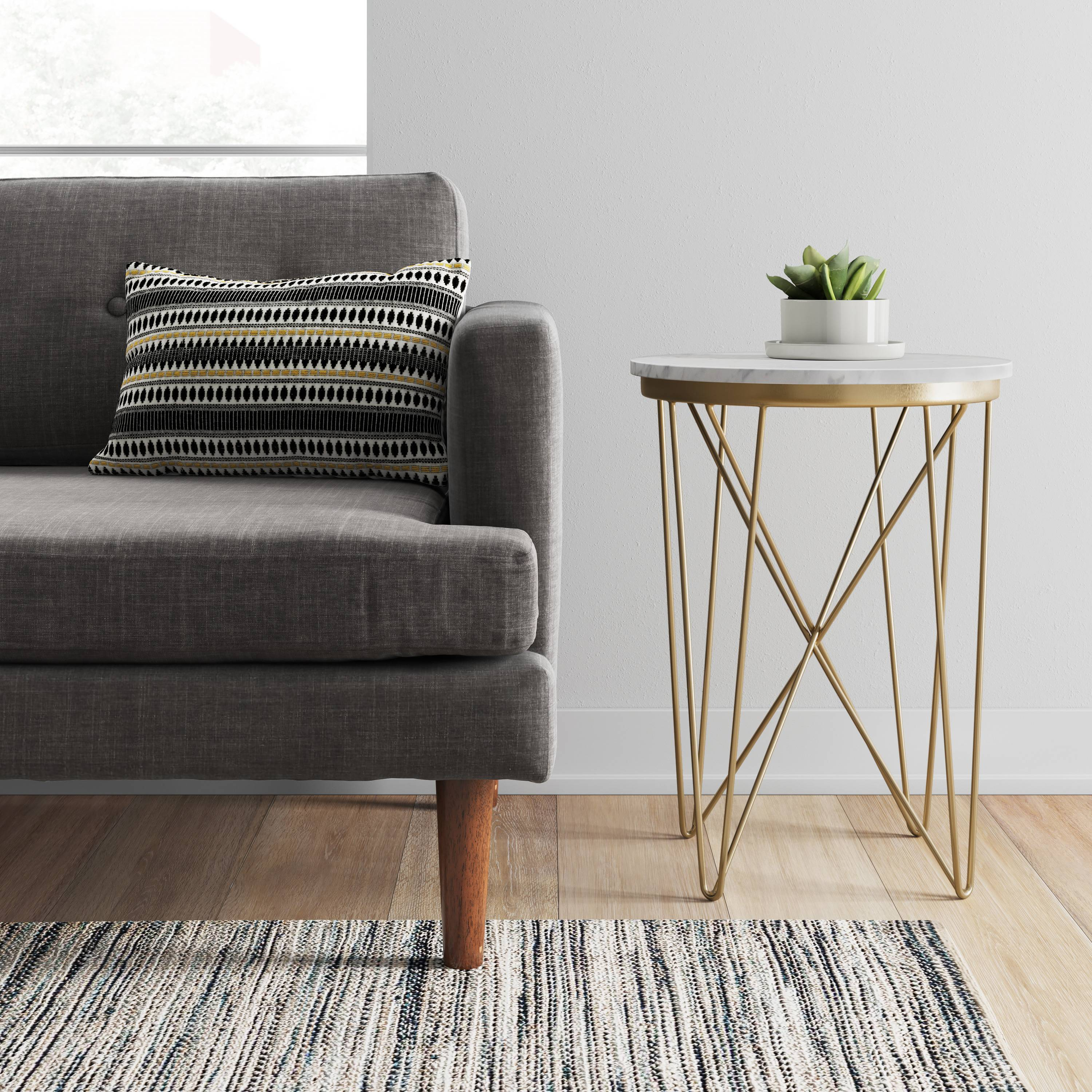 Marble side table from Target