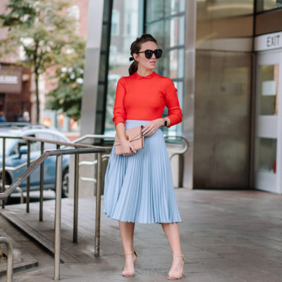 Pleats To Meet Hue – Dressing Colorfully with IFCHIC.COM