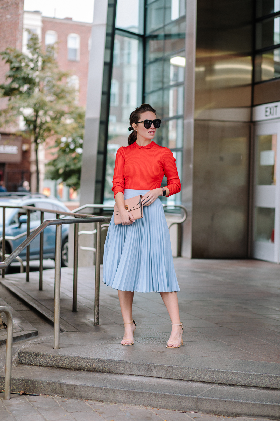 Mixing bold colors with new It-Brand GANNI