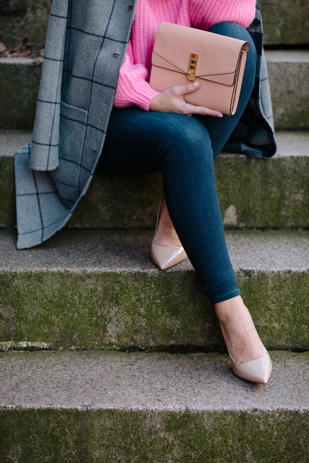 A cozy-chic layered look from Boston Blogger, Kerrie. M Burke