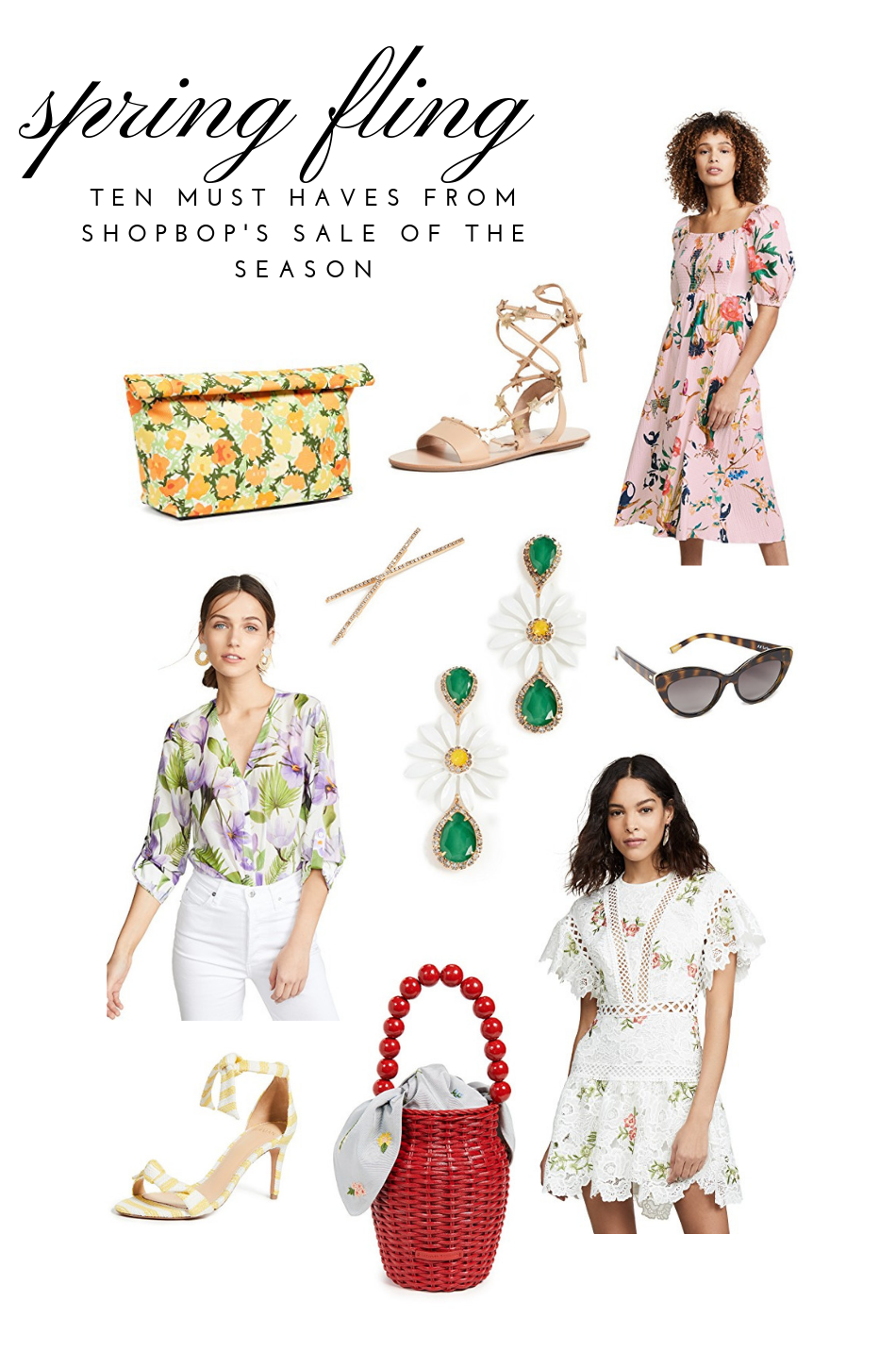 Ten Spring Summer Finds From Shopbop's Sale