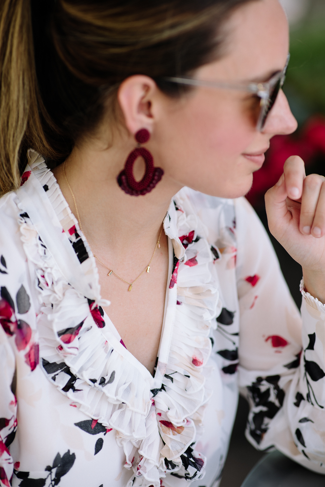 The cutest beaded earrings from WHBM's summer 2019 collection