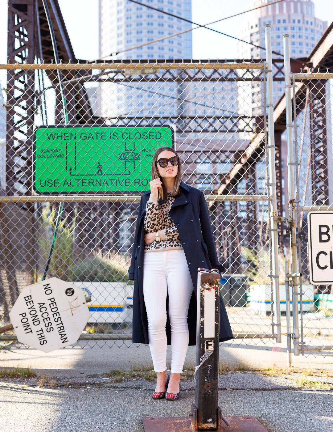 How to style a leopard print sweater