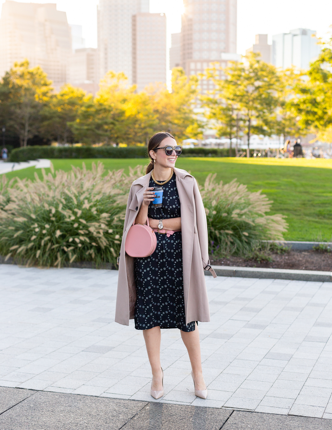 Chic workwear style with Kerrie M Burke