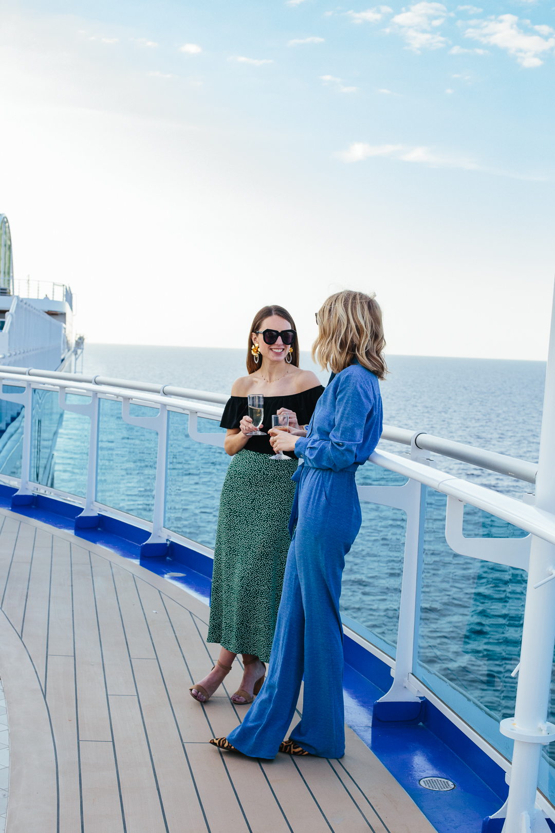 Connecting With Friends On Board The Sky Princess
